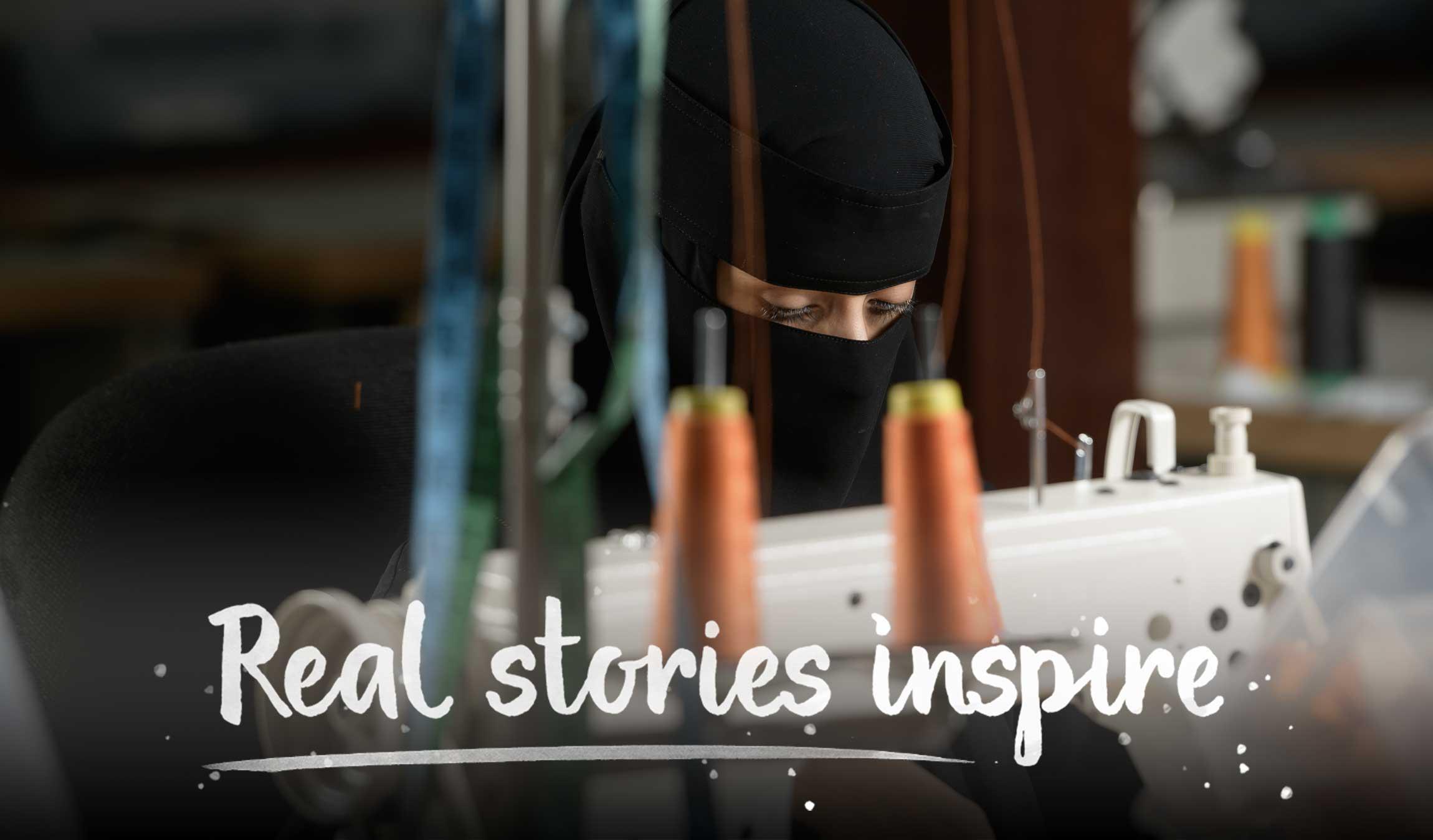 Real stories inspire - An indomitable spirit