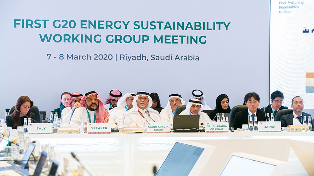أرامكو السعودية تشارك بفاعلية في مجموعات التواصل لمجموعة العشرين