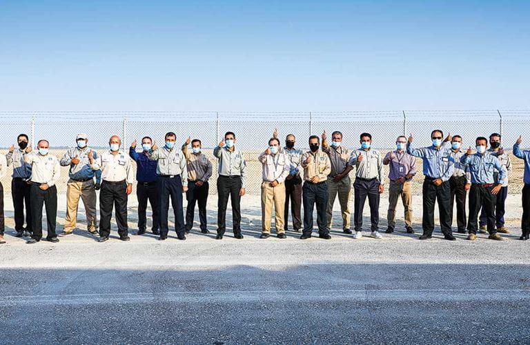 مشروع الوقود النظيف في رأس تنورة يكمل 45 مليون ساعة عمل آمنة