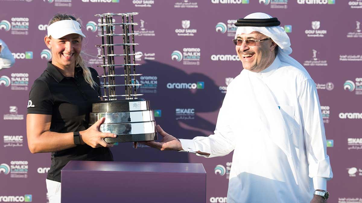 المملكة تستضيف بطولة الغولف الدولية الأولى للسيدات