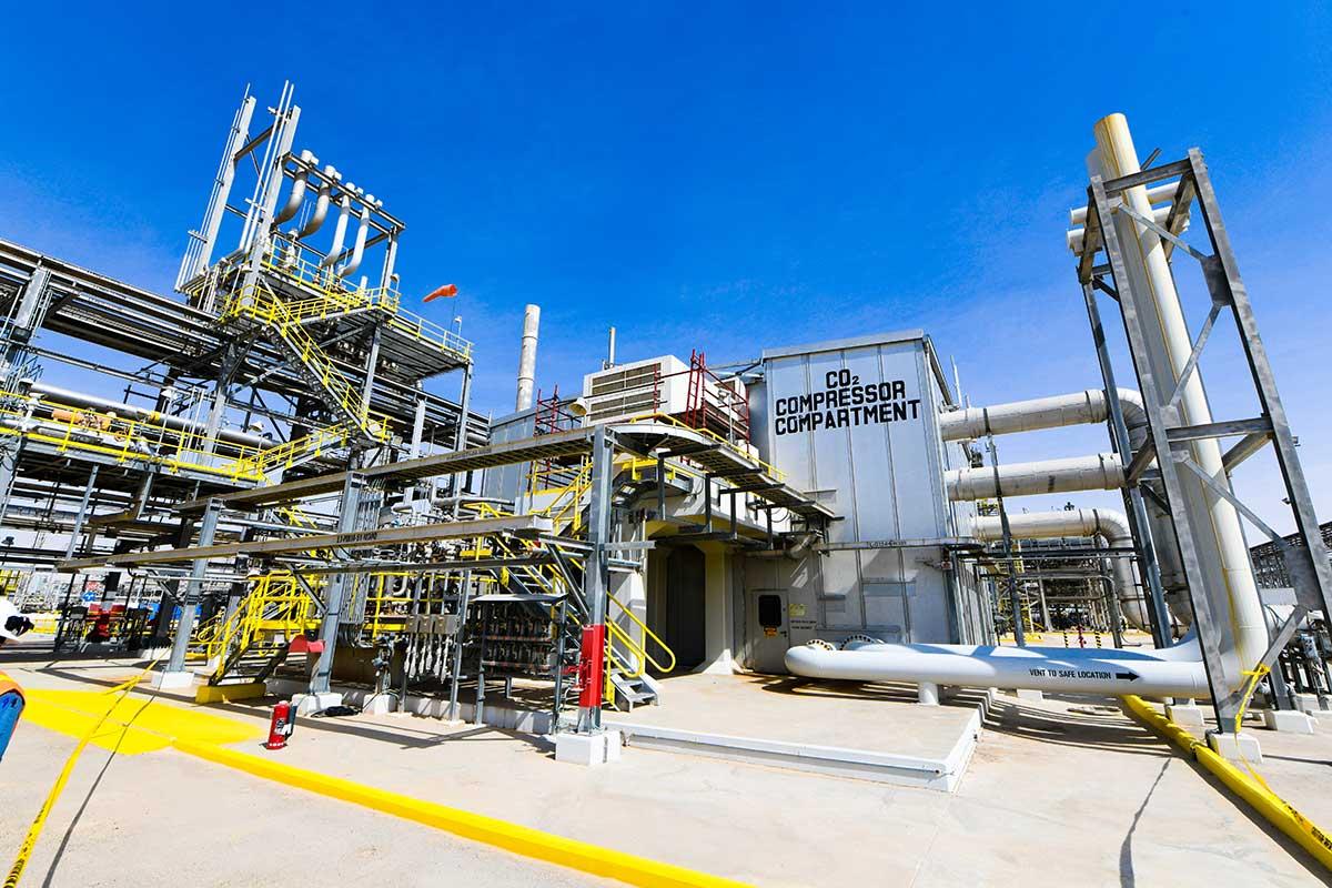 مشروع الاستخلاص المحسَّن للنفط بواسطة ثاني أكسيد الكربون يحصد جائزة رائدة في الاستدامة
