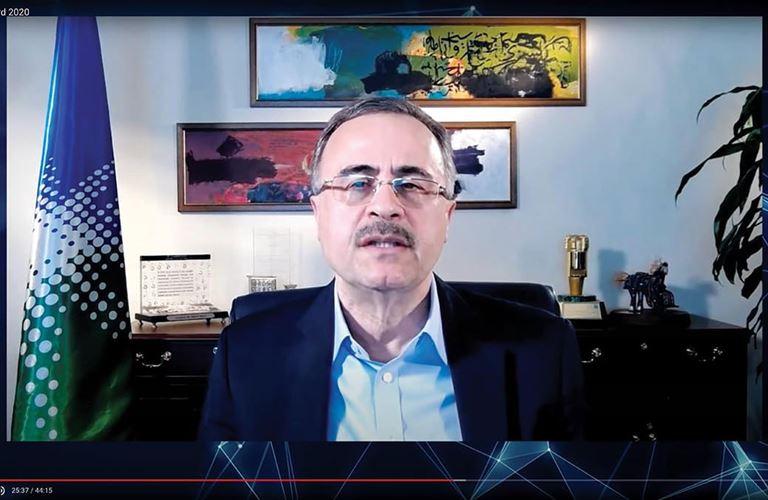 المهندس أمين الناصر يتسلم جائزة عالمية لكبار التنفيذيين في صناعة الكيميائيات