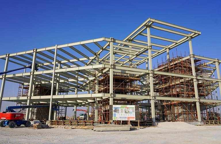 المبنى الفولاذي الأول المكوّن من وحدات منفصلة بتقنية كونكستيك