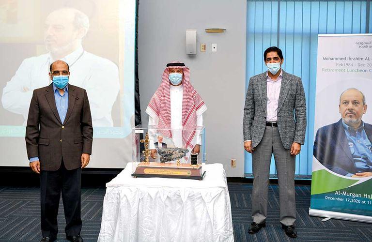 محمد الصويغ يتقاعد بعد 36 عامًا في أرامكو السعودية