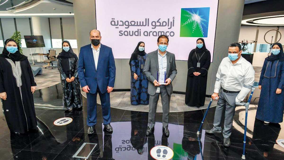 أرامكو السعودية تحوز جائزة دولية مرموقة لدورها الريادي في مجال الأمن السيبراني