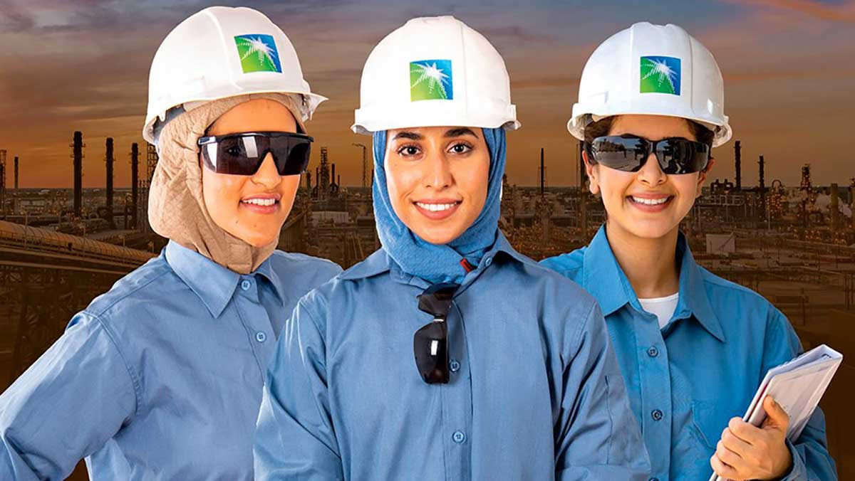 أرامكو السعودية تحتفل باليوم العالمي للمرأة في سعي إلى مزيد من التنوع والاندماج