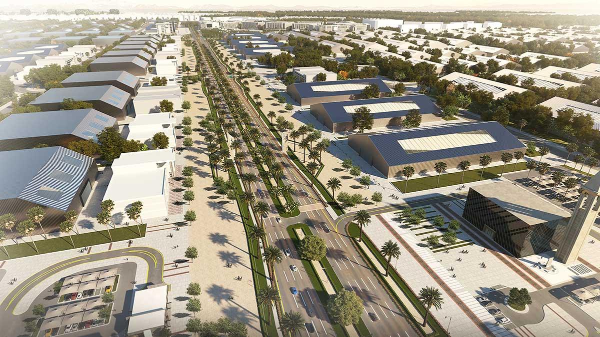 أنظمة ذكية لإنارة الطرق في مدينة الملك سلمان للطاقة