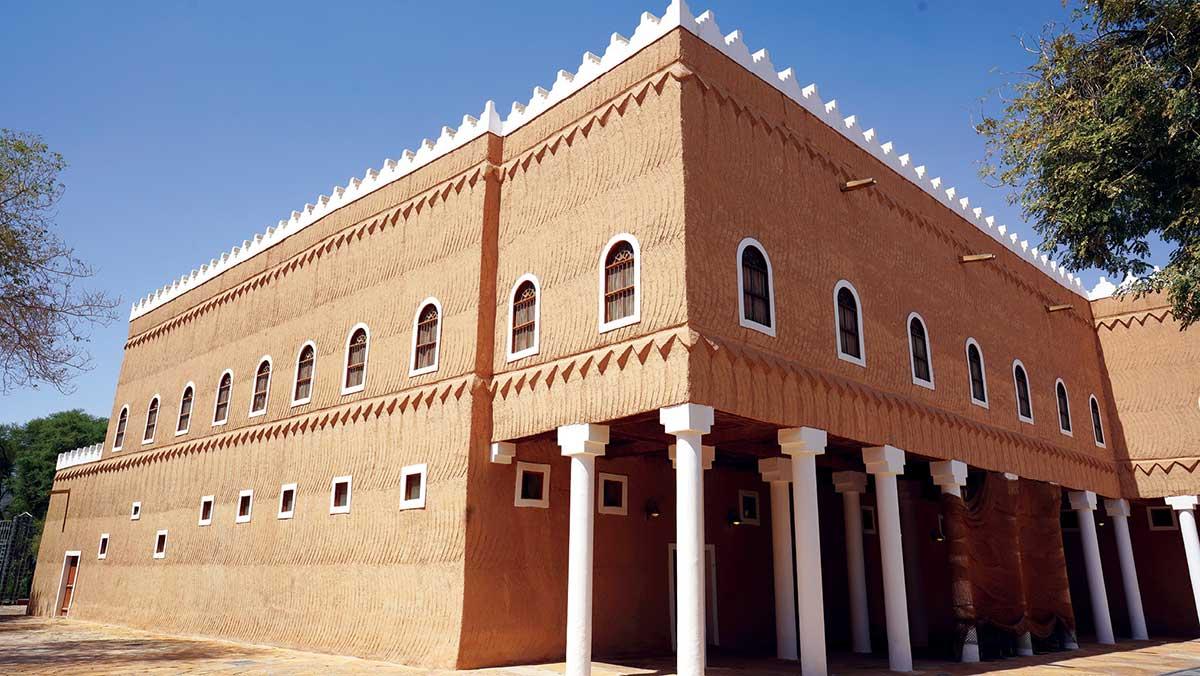 أساليب البناء القديمة في منطقة نجد