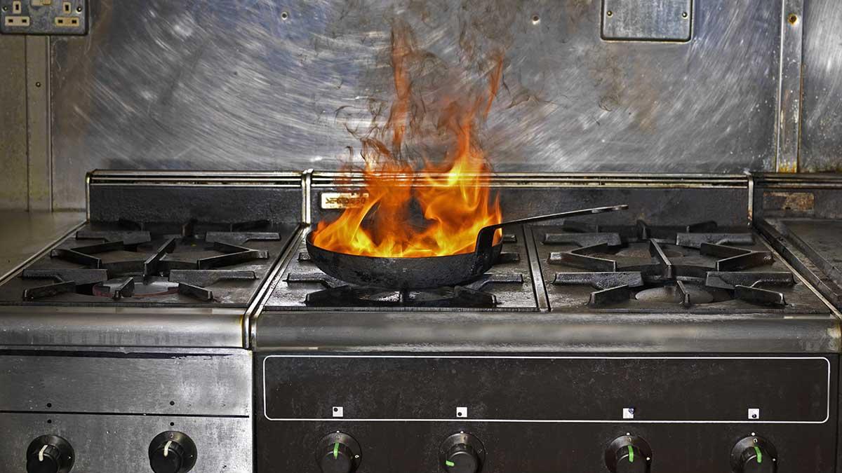 السلامة في المطبخ