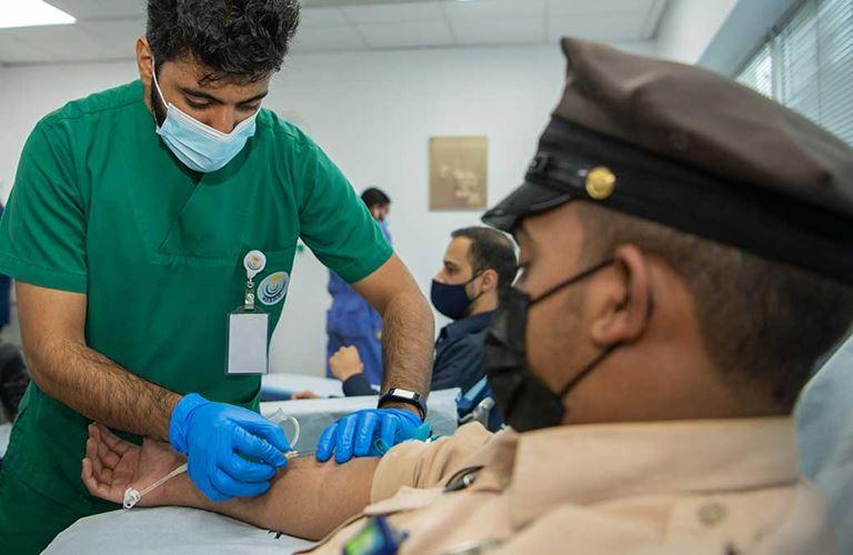 الموارد البشرية والخدمات المساندة تنظِّم حملة للتبرع بالدم