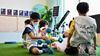 مئات الأطفال المبدعين يستكشفون المجرات والكواكب في مخيم إثراء الصيفي
