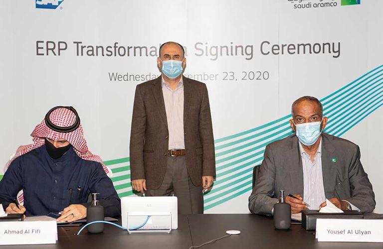 أرامكو السعودية تواصل مسيرة التحوّل الرقمي بتطوير واسع لبرمجيات أعمالها