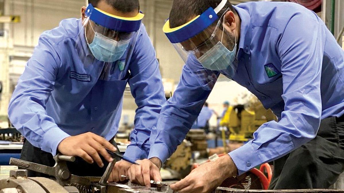 توظيف الهندسة العكَّسية لتوفير القطع التالفة في المعدات الدوارة