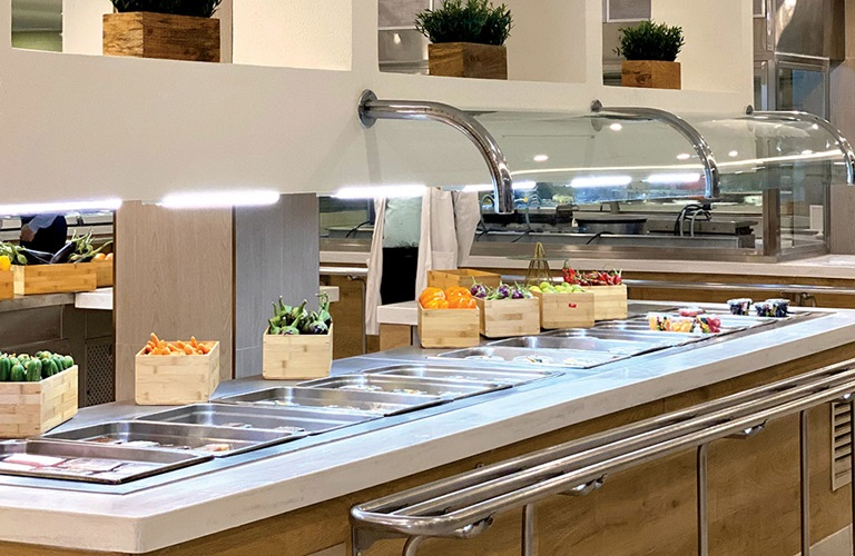 Dhahran Dining Hall gets facelift