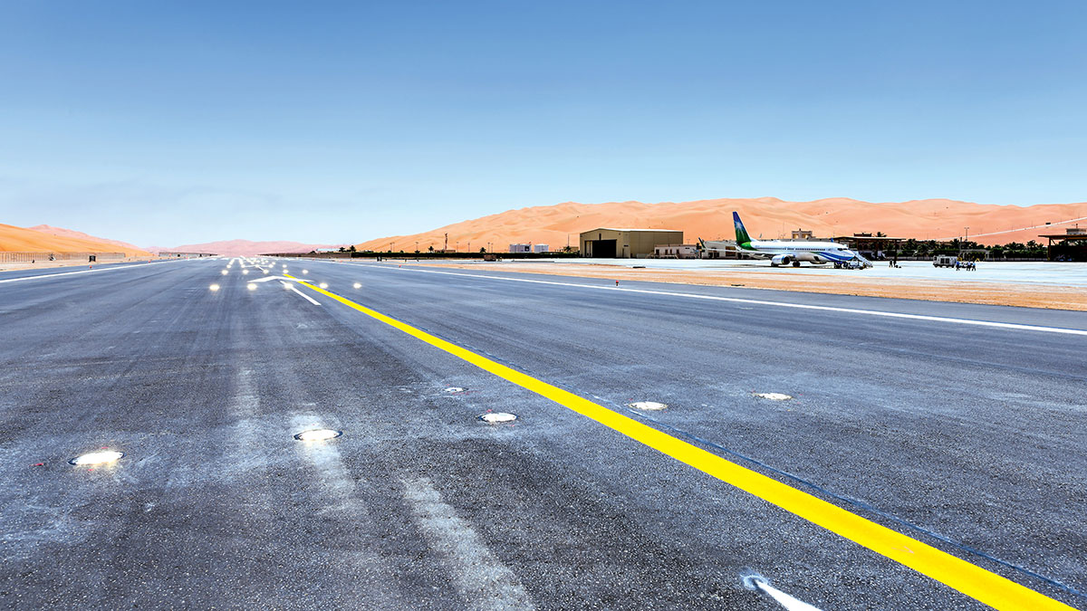 Shaybah airstrip upgrade receives international excellence award