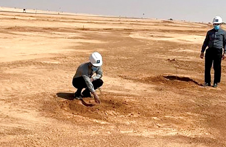 Initiative brings a green touch to Aramco projects