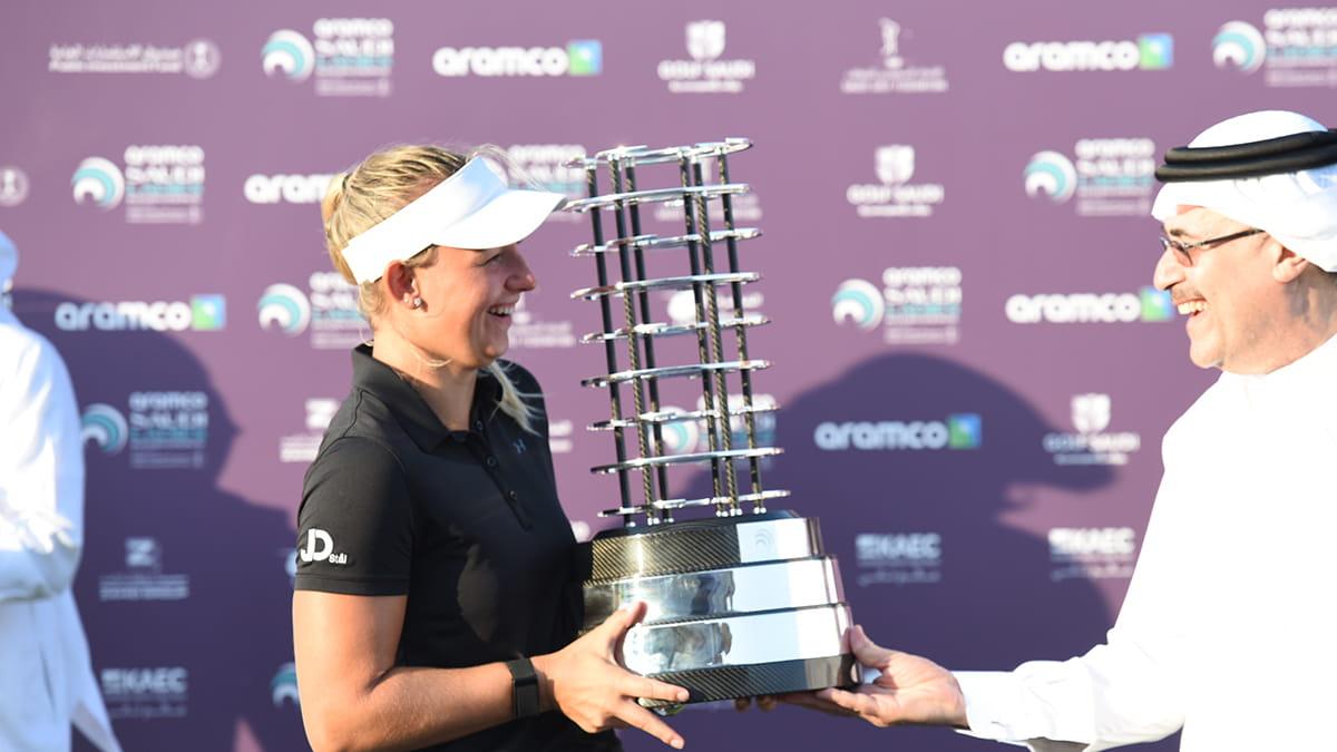Danish golfer wins Aramco invitational tournament