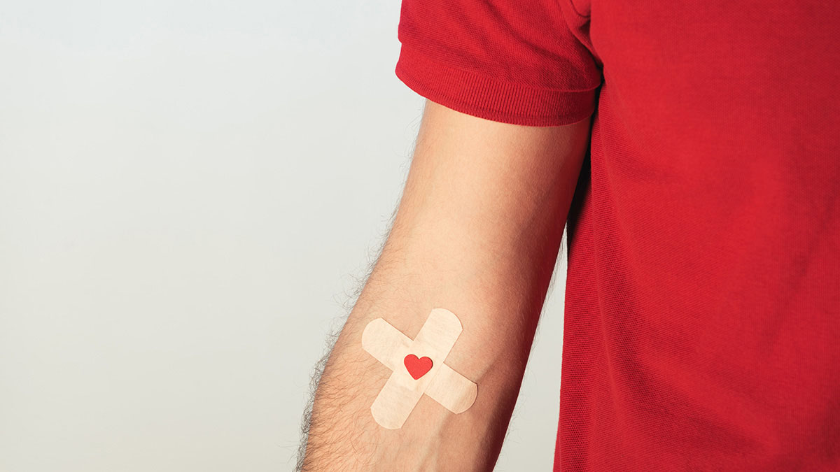 Save a life … become a JHAH blood donor
