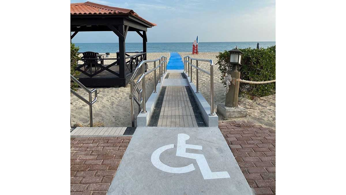 A day at the beach: Najmah more inclusive, accessible