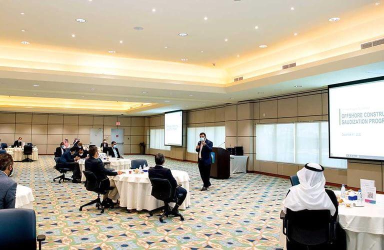 إدارة المشاريع البحرية في أرامكو السعودية تطلق مبادرة لقطاع الصناعات البحرية