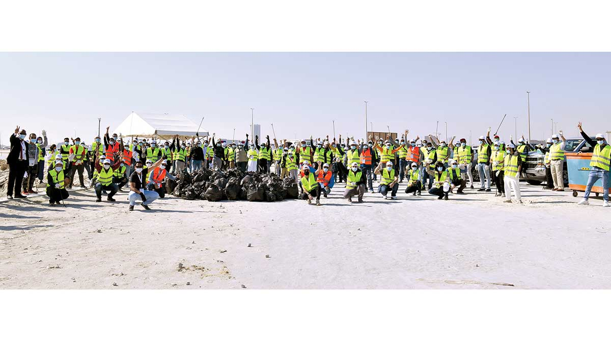 Challenge accepted: cleanup on al-Khobar Corniche