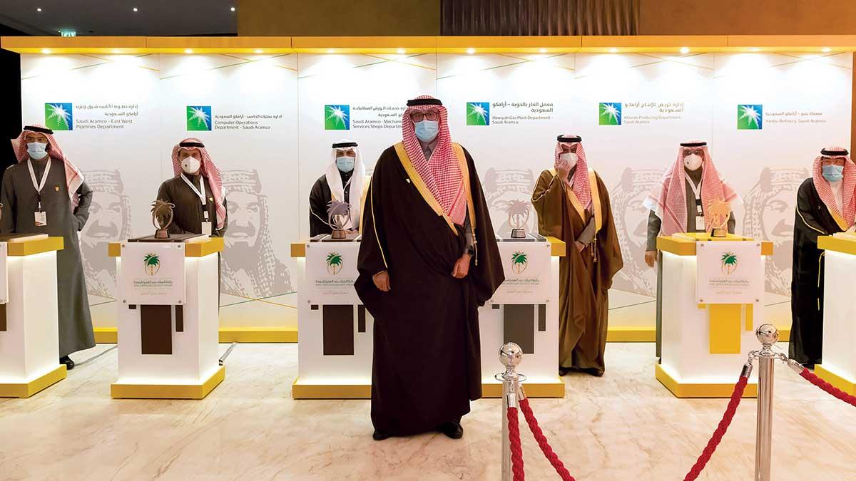 Aramco collects several King Abdulaziz Quality Awards