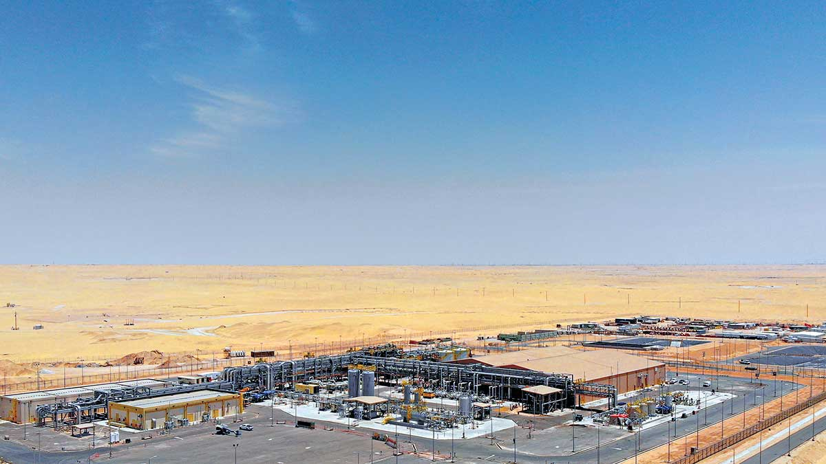 Aramco completes major onshore sulfate removal effort