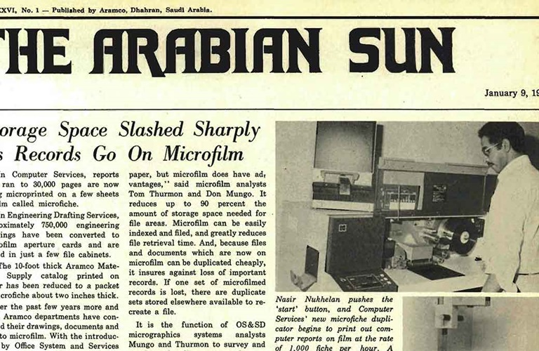 Memory Lane: Echoes of Aramco's past continue to reverberate