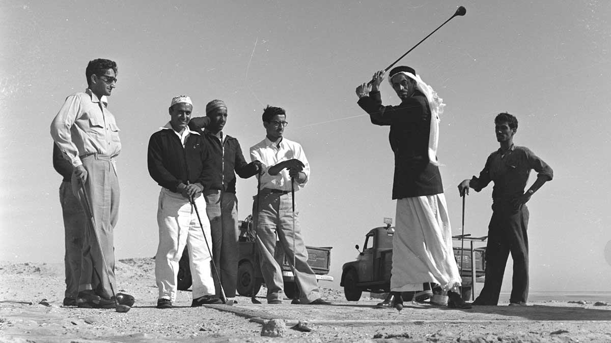 Stories from Aramco's early sand course