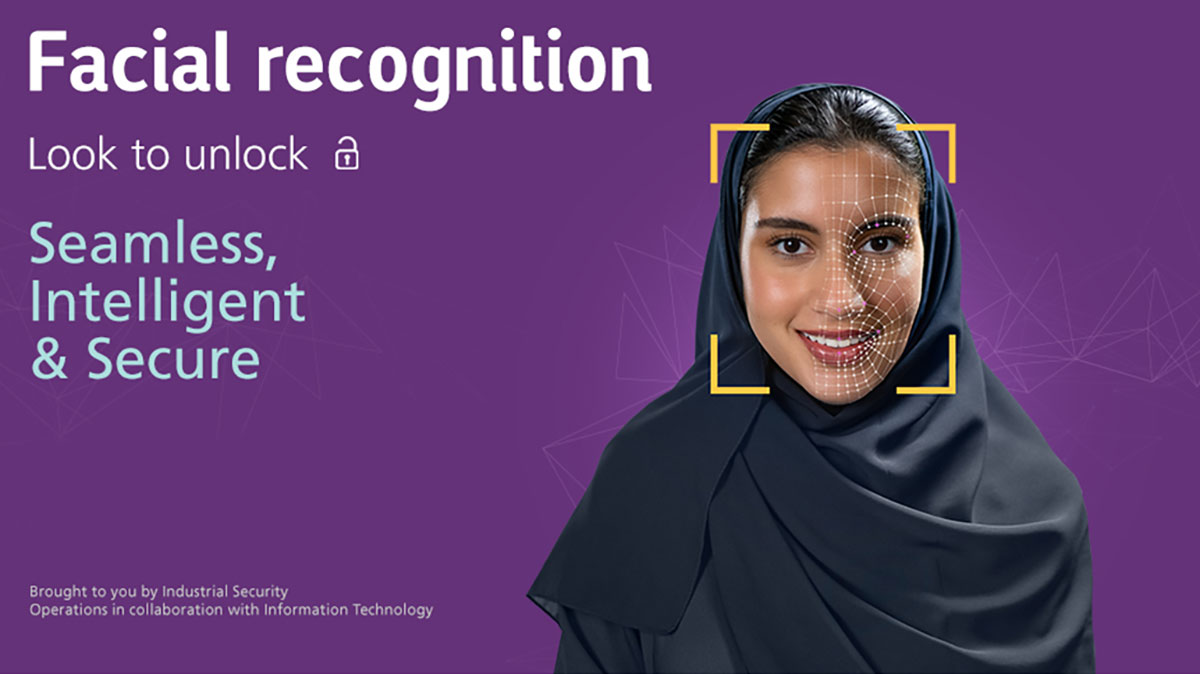 Aramco rolls out facial recognition technology at facilities