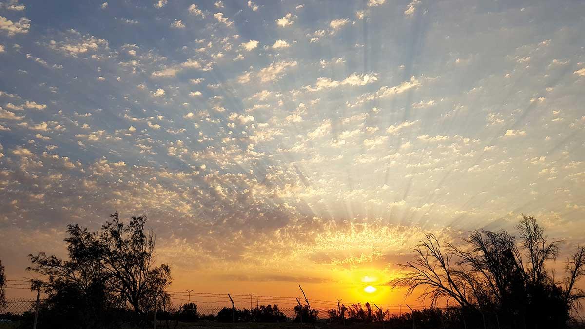 Reader's Album: Cloudy skies over the Arabian Gulf