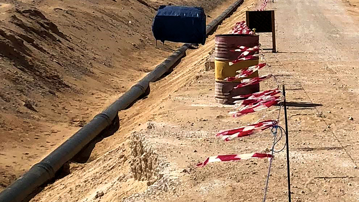 New nonmetallic water pipelines being built in Northern, Southern areas