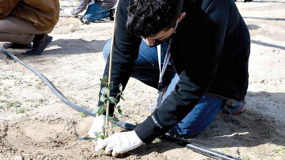 Company students, trainees embrace environmental awareness