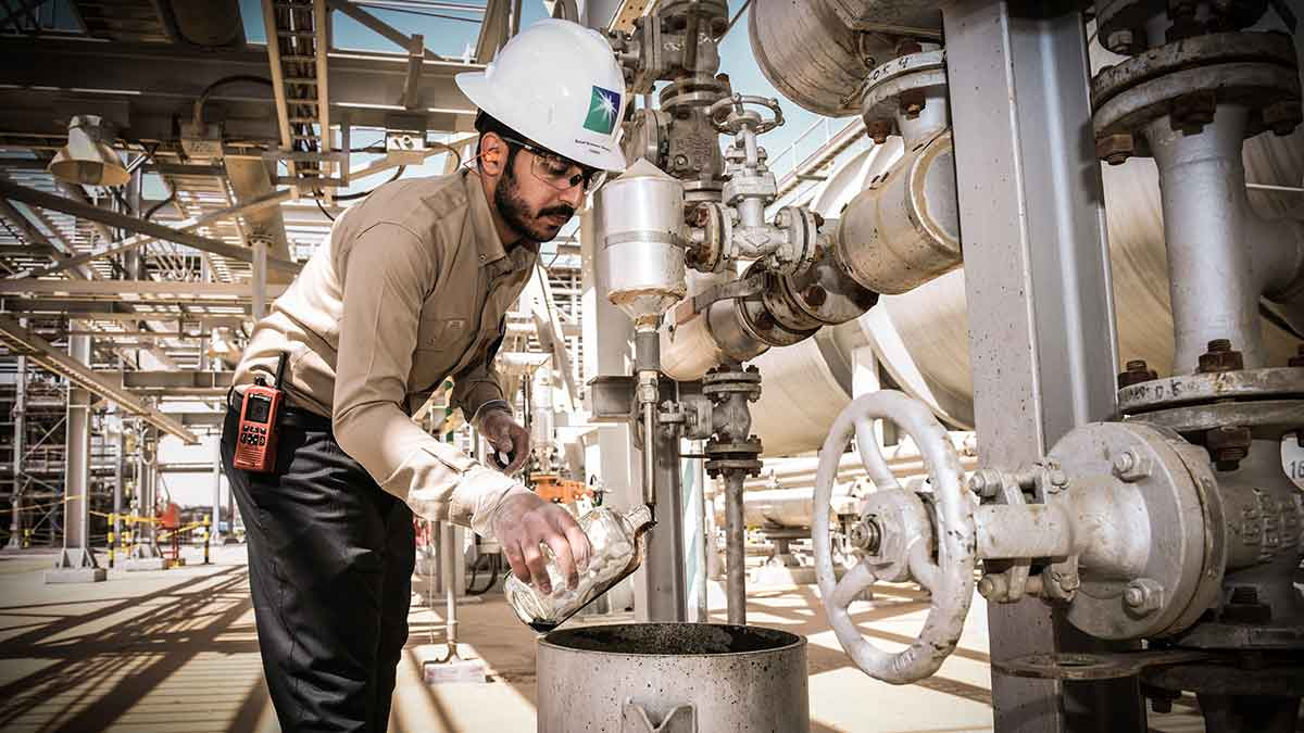 Our crude oil assay: Ensuring decades of quality Arabian oils