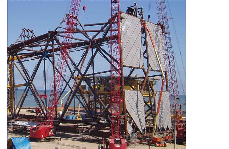 Aramco pioneering nonmetallic projects offshore