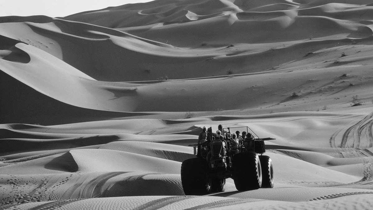 Photographic Memory: Exploring the Empty Quarter