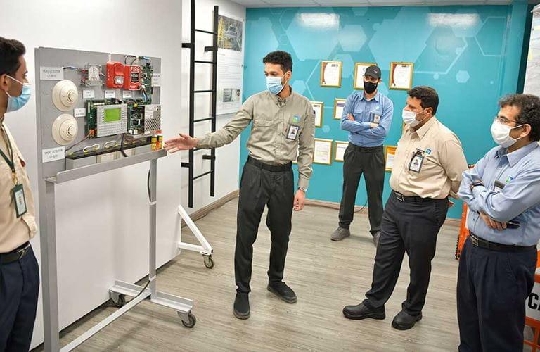 Aramco opens front line simulator training academy