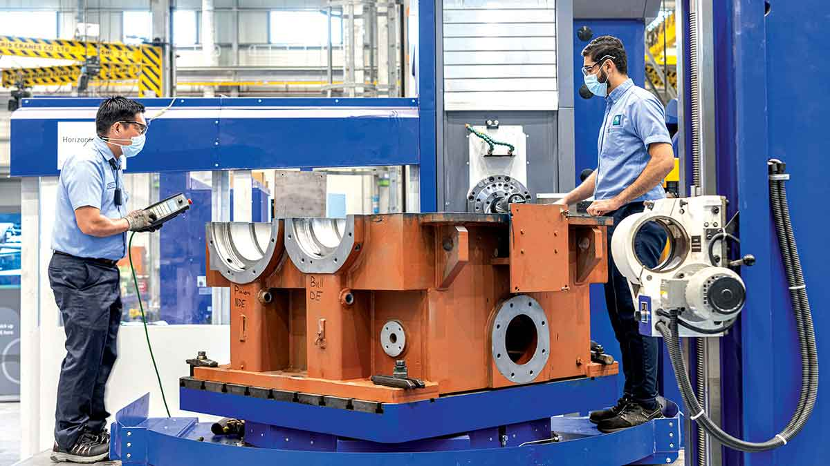 New Mechanical Shops hub opens for business in Ju'aymah