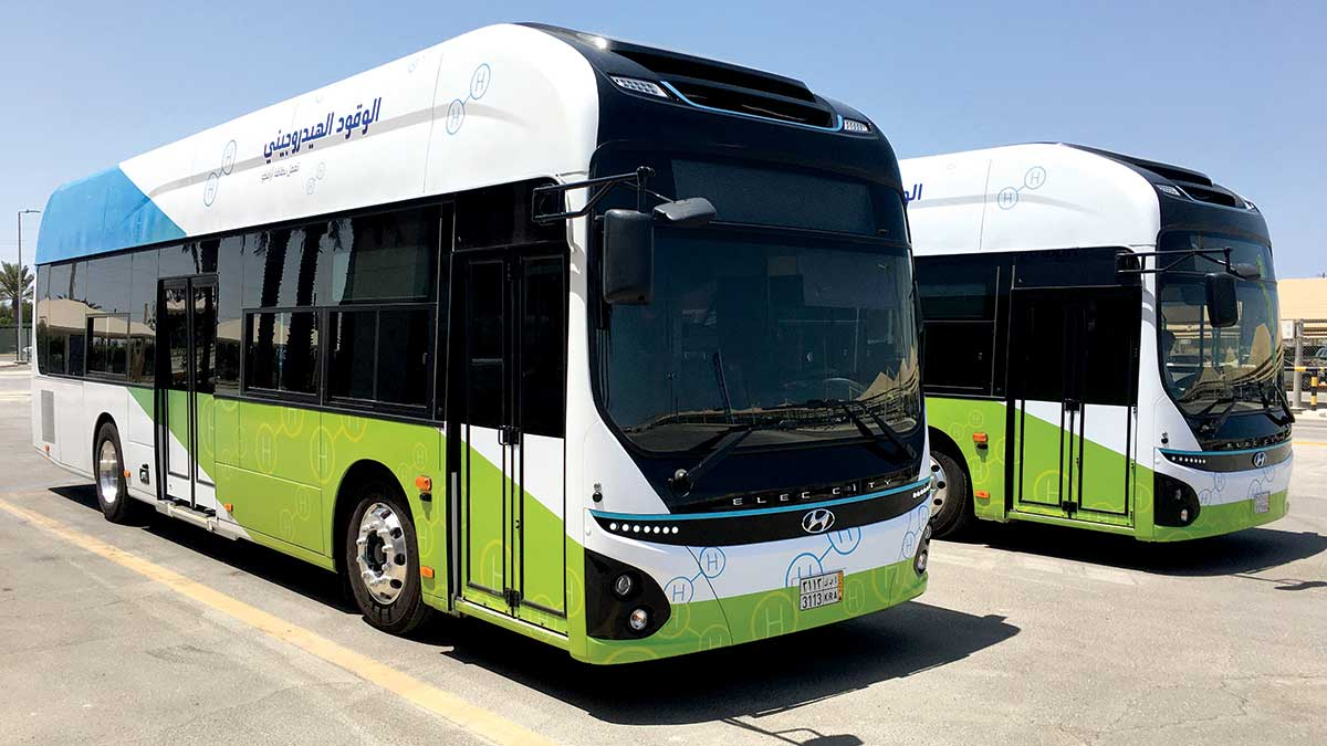 Aramco: Scaling up hydrogen as the low-carbon fuel of the future