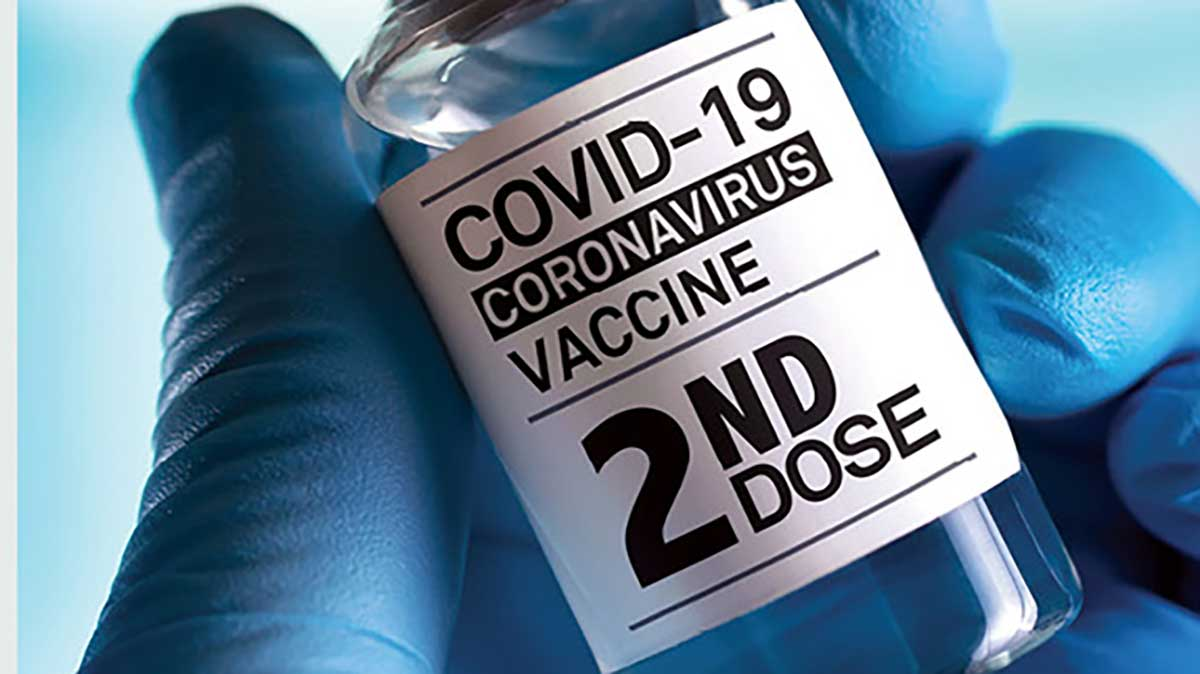 Together we can end the pandemic: Second dose vaccinations open to all