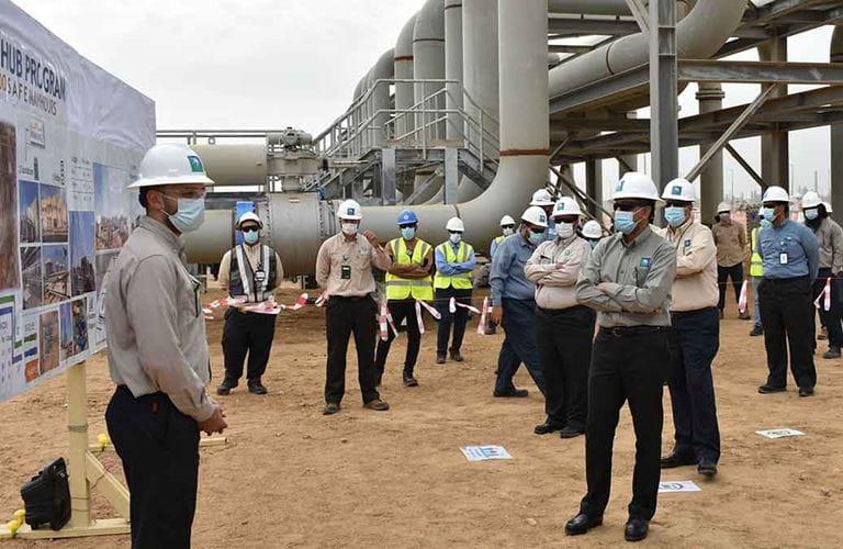 Aramco's Yanbu' distribution hub project powers forward