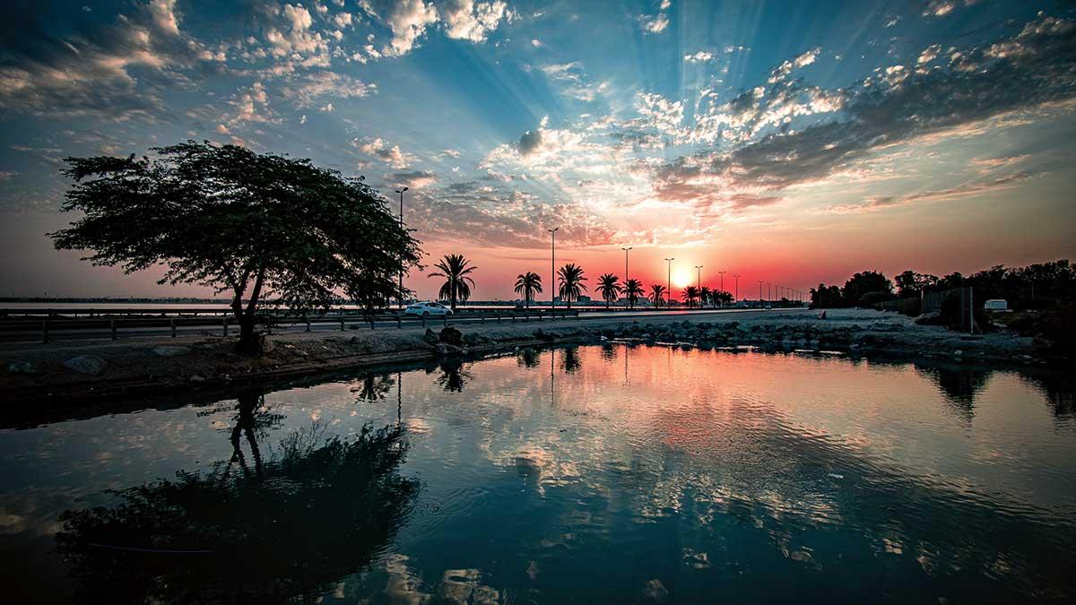 SEND US YOUR PHOTO: A summer sunrise in al-Khobar