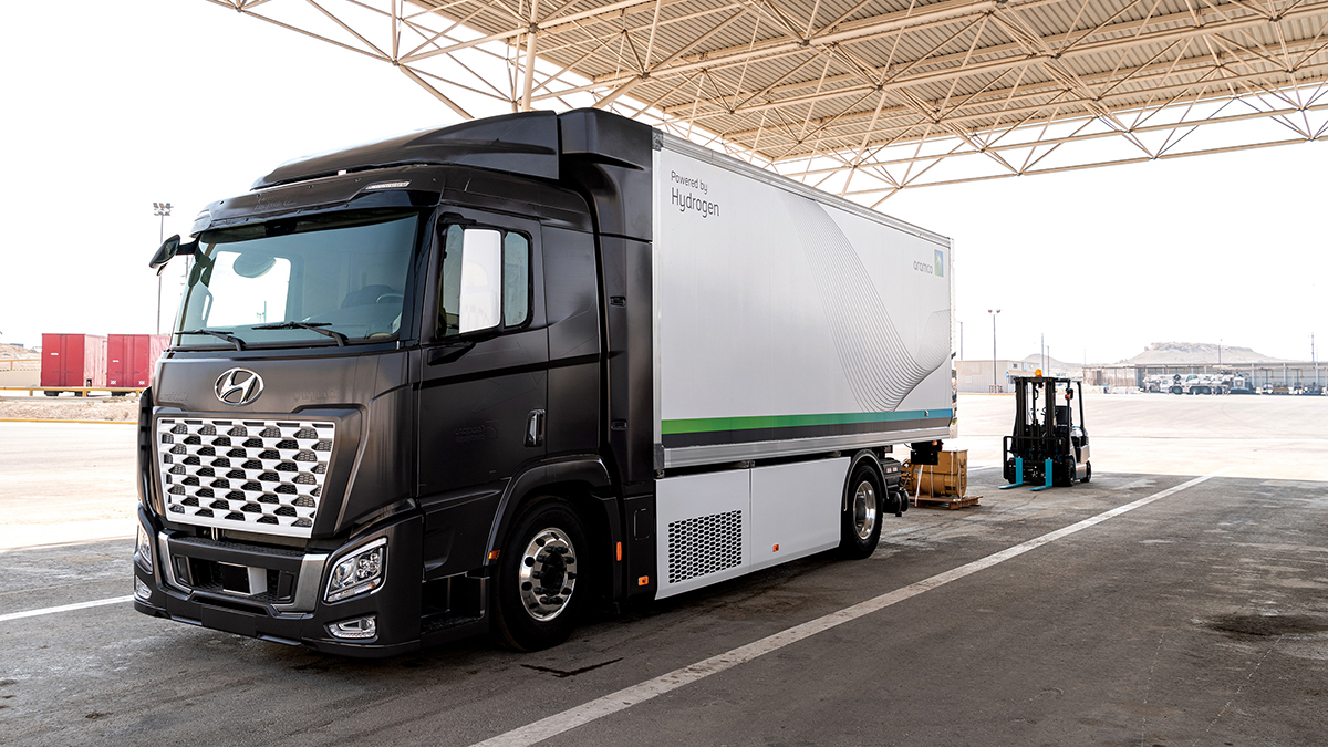 Company promotes hydrogen fuel applications