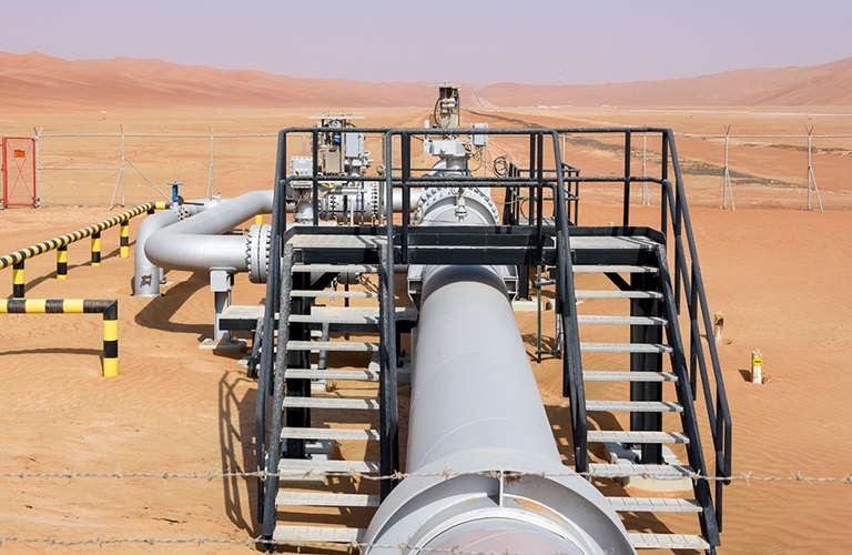 Aramco hydrocarbon journey: Pipelines