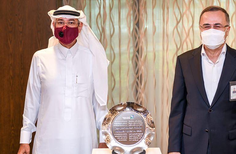 Abdullah O. Al-Baiz honored in Dhahran as he retires