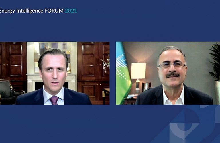 CEO addresses Energy Intelligence Forum