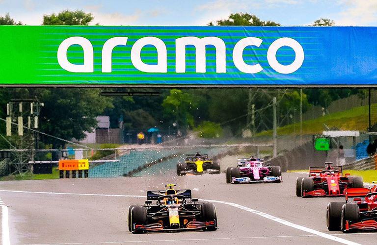 Get your F1 digital race program here