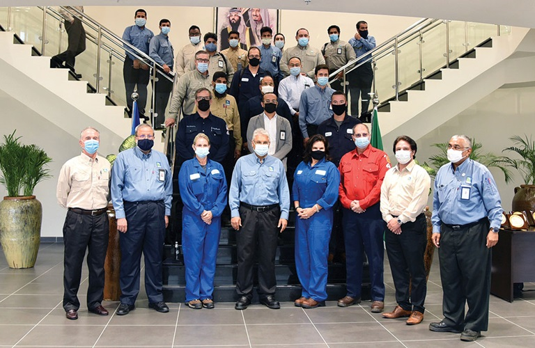 Motiva team visits Aramco facilities