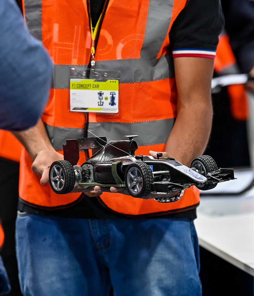 Hitting the track with 3-D printed racing cars